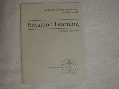 Situation learning (0838816142) by Biddle, Marietta Laing