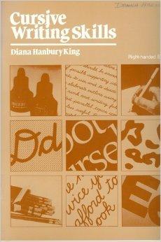 Cursive writing skills: King, Diana Hanbury