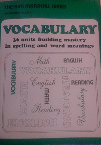 Kim Marshall Series in Vocabulary Book 2 (0838817297) by Kim Marshall