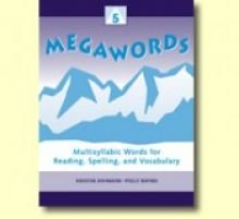 9780838818343: Megawords: Multisyllabic Words for Reading, Spelling, and Vocabulary, Vol. 5