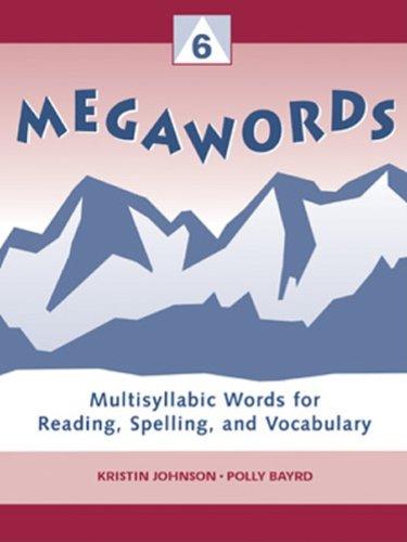 9780838818367: Megawords 6: Multi Syllabic Words