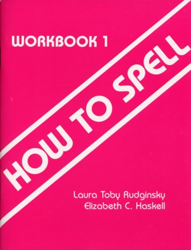 9780838818480: How to Spell, Workbook 1