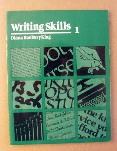 9780838820506: Writing Skills 1