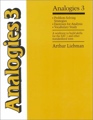 9780838822296: Analogies 3: Problem Solving Strategies
