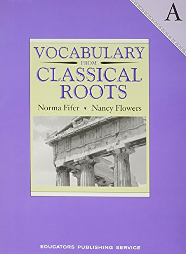 9780838822524: Vocabulary from Classical Roots - A