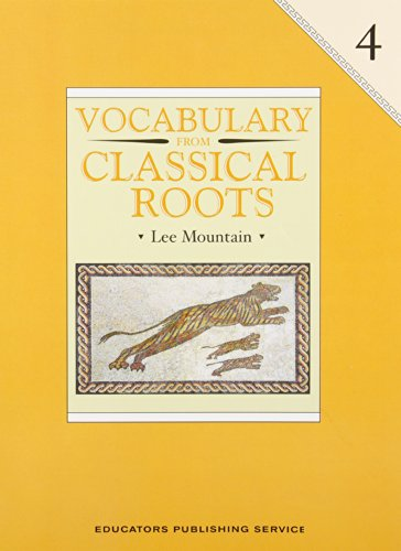 9780838822654: Vocabulary from Classical Roots 4