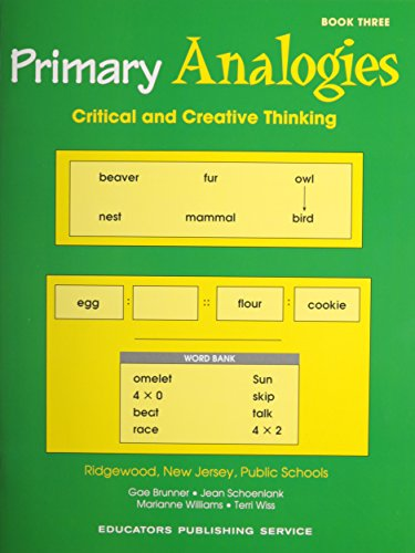 9780838822876: Primary Analogies: Book 3