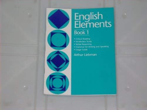 9780838823040: English elements book 1