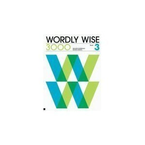 9780838824337: Wordly Wise 3000 : Book 3