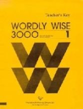 9780838824412: Wordly Wise 3000: Book 1 : Teacher's Key
