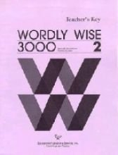 9780838824429: Wordly Wise 3000, Book 2: Answer Key