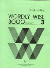 9780838824436: Wordly Wise 3000: Book 3 : Teacher's Key