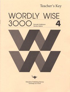 9780838824443: Wordly Wise 3000 Book 4 - Answer Key