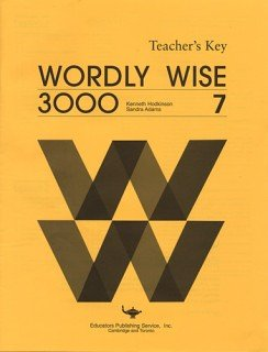 9780838824474: Wordly Wise 3000 Book 7 - Answer Key