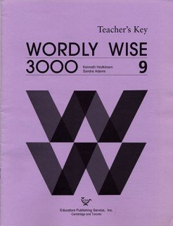 9780838824498: Wordly Wise 3000 Book 9 - Answer Key