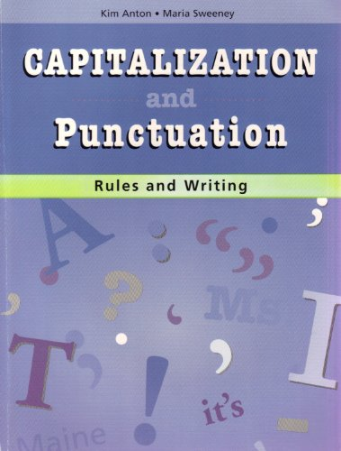 9780838826119: Capitalization And Punctuation Rules And Writing