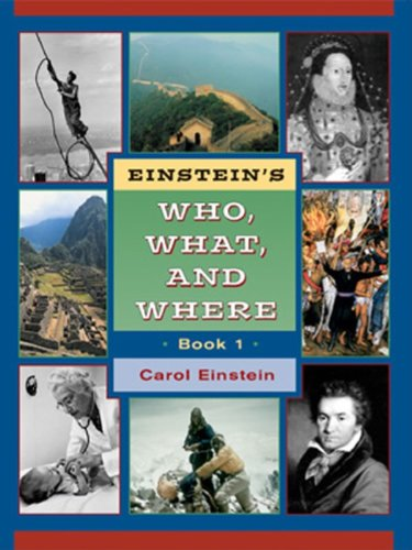Einstein's who, what, and where: Einstein, Carol