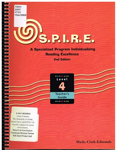 9780838827147: Spire Teacher\'s Guide Level 4