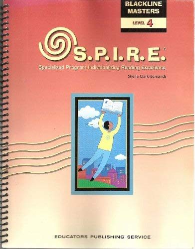 9780838827154: S.P.I.R.E. (Specialized Program Individualizing Reading Excellence) (Blackline Masters, Level 4)