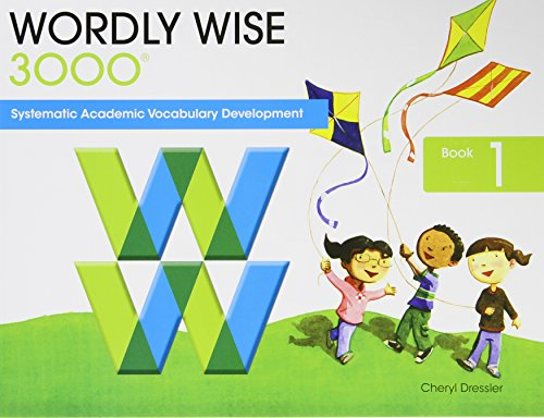 wordly wise book 1 pdf