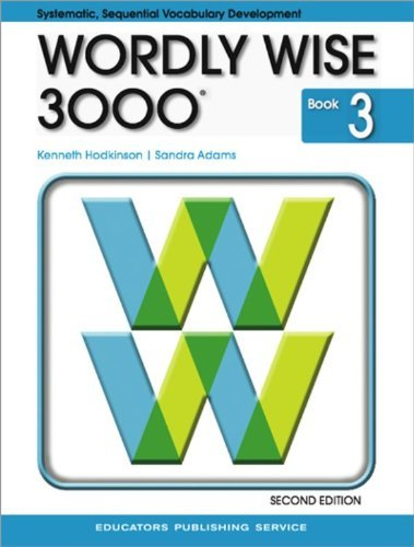 9780838828212: Wordly Wise 3000 Book 3