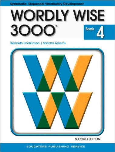 9780838828229: Wordly Wise 3000, Book 4, 2nd Edition