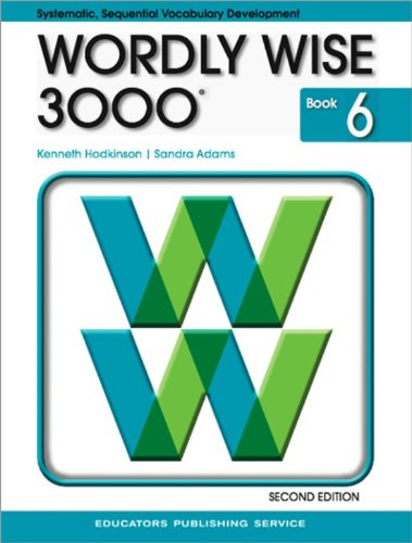 9780838828243: Wordly Wise 3000 Book 6