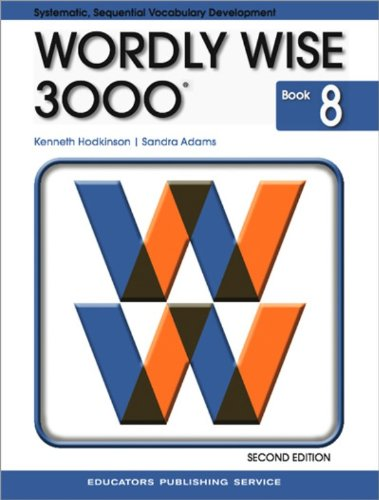 9780838828267: Wordly Wise 3000, Book 8