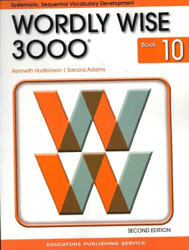 9780838828281: Wordly Wise 3000 Book 10