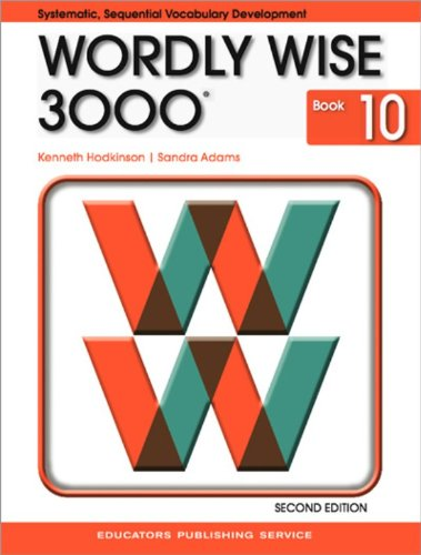 9780838828281: Wordly Wise 3000: Systematic, Sequential Vocabulary Development, Grade 10- Student Book, 2nd Edition