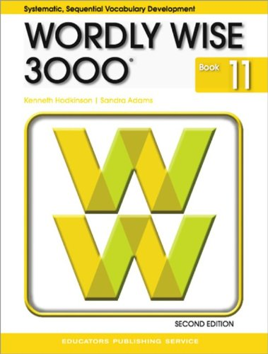 9780838828298: Wordly Wise 3000 Grade 11 Student Book - 2nd Edition