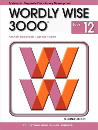 9780838828304: Wordly Wise 3000, Book 12