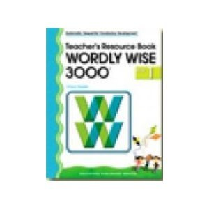 9780838828328: Wordly Wise 3000 - Teacher's Resource Book - Book 1 (Systematic, Sequential Vocabulary Development)