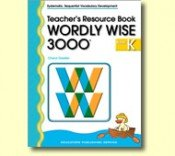 9780838828762: Wordly Wise Book K Trp