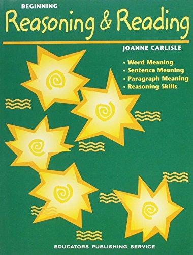 9780838830017: Beginning Reasoning and Reading