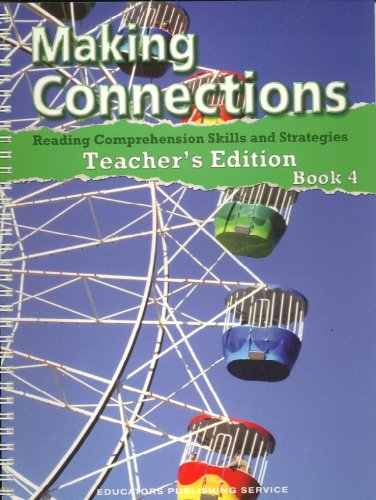 9780838833070: Making Connections, Book 4, Teacher's Edition