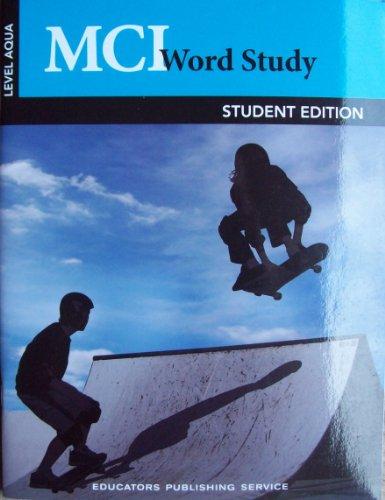 9780838841181: Mci Word Study - Aqua