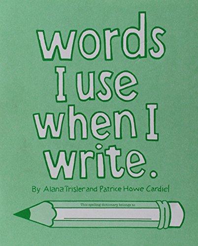 9780838860434: Words I Use When I Write