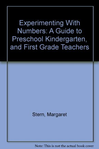 9780838870785: Experimenting With Numbers: A Guide to Preschool Kindergarten, and First Grade Teachers