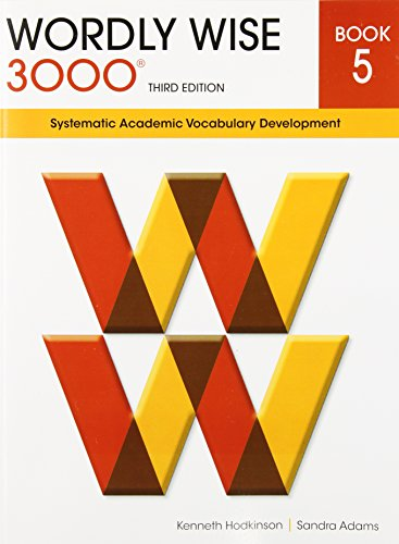 9780838876053: Wordly Wise 3000 Book 5: Systematic Academic Vocabulary Development