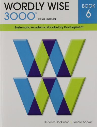 9780838876060: Wordly Wise 3000 Book 6: Systematic Academic Vocabulary Development