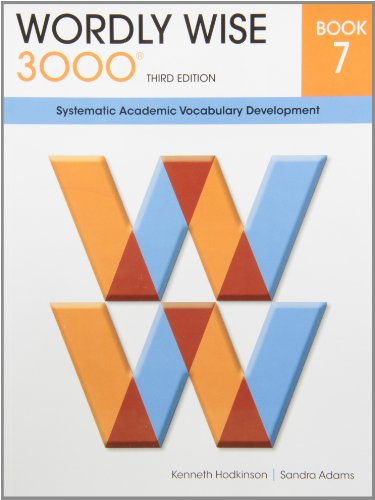 9780838876077: Wordly Wise 3000 Book 7: Systematic Academic Vocalulary Development