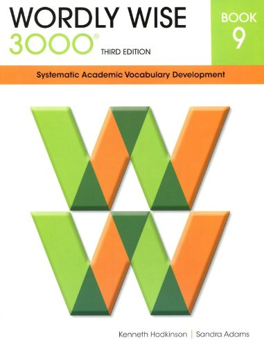 9780838876091: Wordly Wise 3000 Systematic Academic Vocabulary Development Book 9
