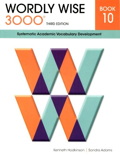 9780838876107: Wordly Wise 3000 Book 10: Systematic Academic Vocabulary Development