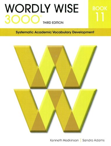 9780838876114: Wordly Wise 3000 book 11: Systematic Academic Vocabulary Development