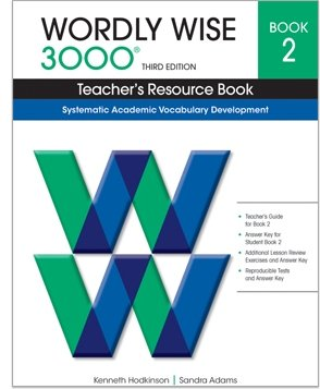 9780838876152: Wordly Wise 3000 Teacher's Resource Book, Grade 2, 3rd Edition