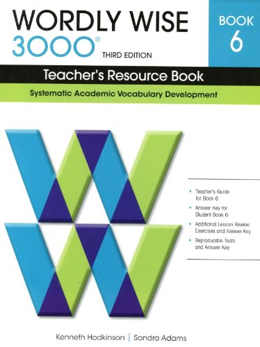 9780838876190: Wordly Wise 3000 Book 6: Systematic Academic Vocabulary Development