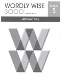 9780838876312: Wordly Wise Key, Book 5