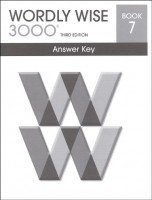 9780838876336: Wordly Wise 3000, Book 7