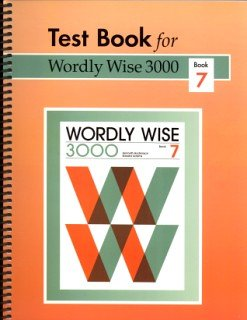 9780838881378: Wordly Wise 3000: Grade 10, Book 7